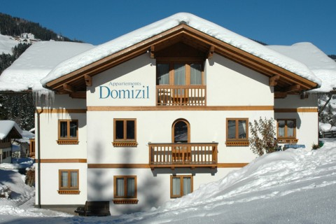 Foto Haus Domizil im Winter